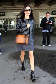 Jennifer Connelly Stills Arrives at Airport in Nice 2018/05/15 10