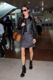 Jennifer Connelly Stills Arrives at Airport in Nice 2018/05/15 11