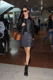 Jennifer Connelly Stills Arrives at Airport in Nice 2018/05/15 12