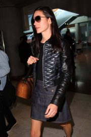 Jennifer Connelly Stills Arrives at Airport in Nice 2018/05/15 14