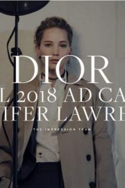 Jennifer Lawrence for Dior Pre-Fall 2018 Ad Campaign Photos 2018/05/28 6