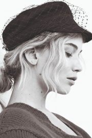 Jennifer Lawrence Poses for Dior Magazine 2018 Issue 1