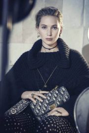 Jennifer Lawrence Poses for Dior Pre-Fall 2018 Ad Campaign Photos 7