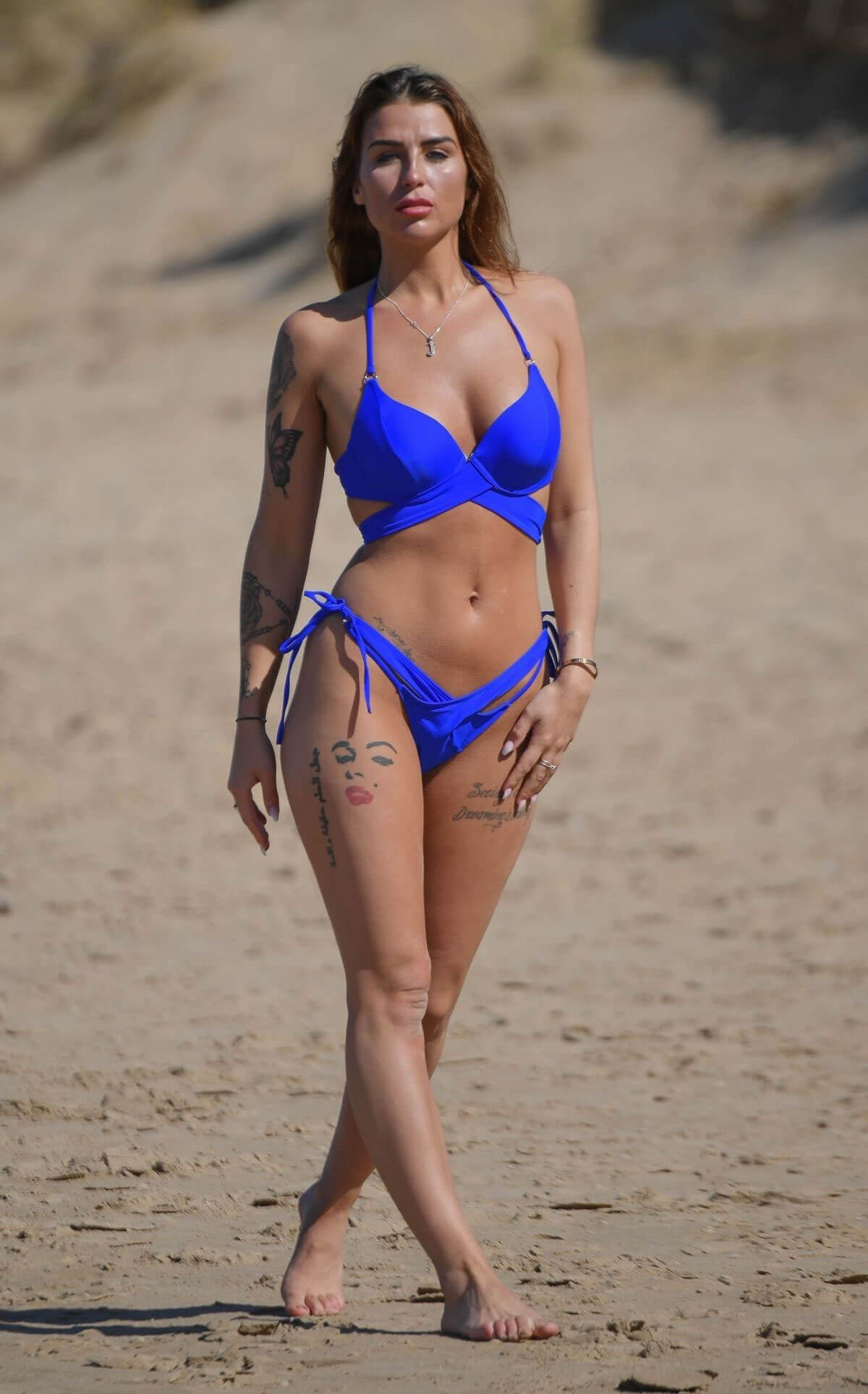 Jenny Thompson in Bikini at a Beach in Costa Del Sol 2018/05/30 12