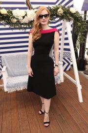Jessica Chastain Stills at 355 Cocktail Party at 2018 Cannes Film Festival 2018/05/10 1