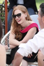 Jessica Chastain Stills at 355 Cocktail Party at 2018 Cannes Film Festival 2018/05/10 3