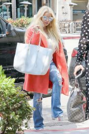 Jessica Simpson Out for Lunch in Beverly Hills 2018/05/25 12