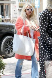 Jessica Simpson Out for Lunch in Beverly Hills 2018/05/25 13