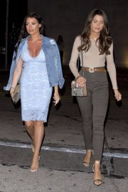 Jessica Wright and Natalya Wright Stills at Craig's Restaurant in West Hollywood 2018/05/07 2