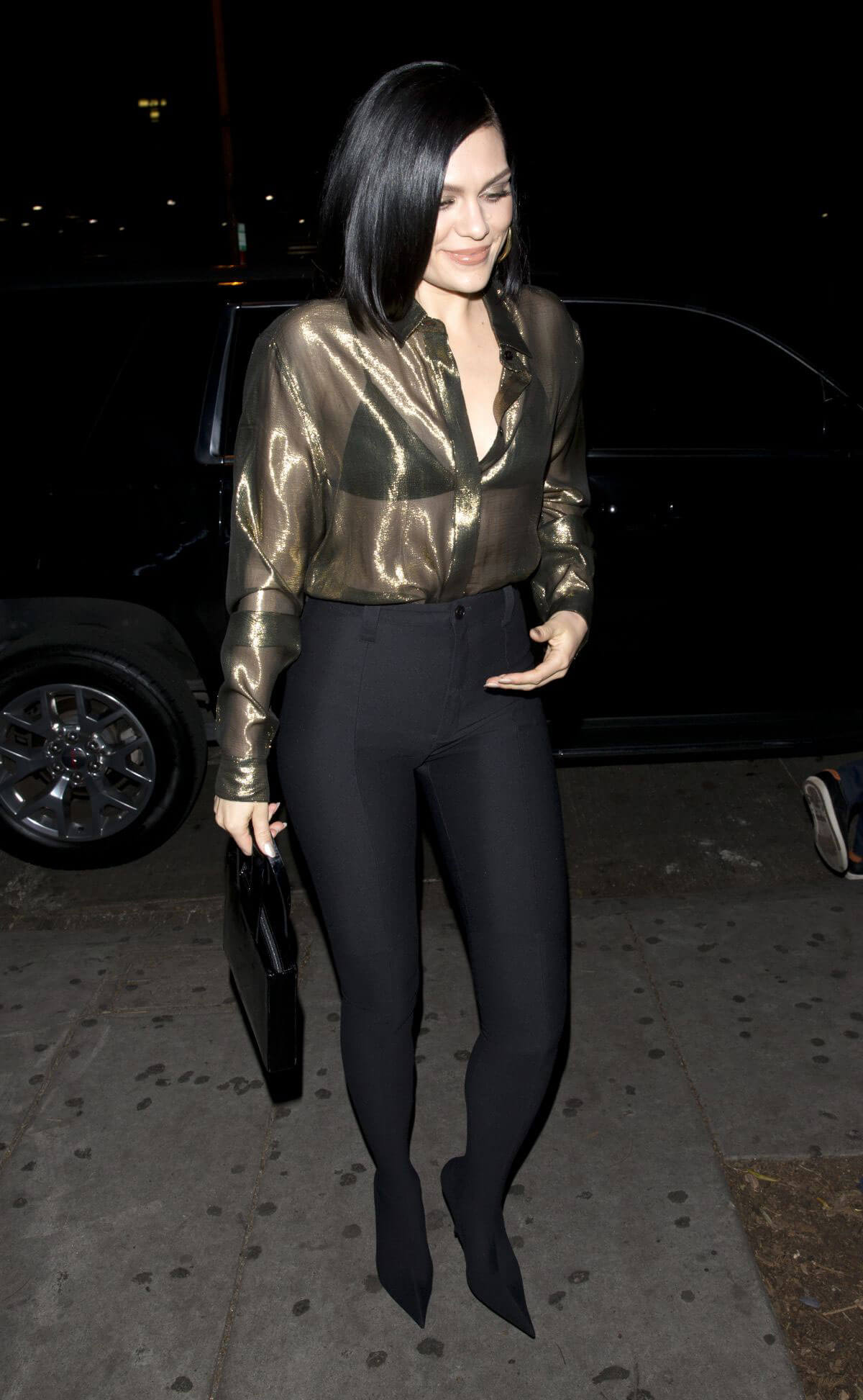 Jessie J Фото jessie j at stevie stills wonder's birthday early