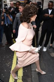 Joan Collins Stills at Hello! Magazine x Dover Street Market 30th Anniversary Party in London 2018/05/09 3