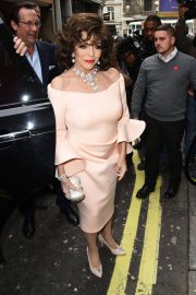 Joan Collins Stills at Hello! Magazine x Dover Street Market 30th Anniversary Party in London 2018/05/09 4