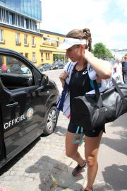 Johanna Konta Arrives at Training Session at Roland Garros in Paris 2018/05/30 2