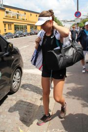 Johanna Konta Arrives at Training Session at Roland Garros in Paris 2018/05/30 3