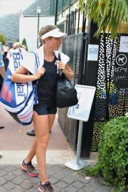 Johanna Konta Arrives at Training Session at Roland Garros in Paris 2018/05/30 7