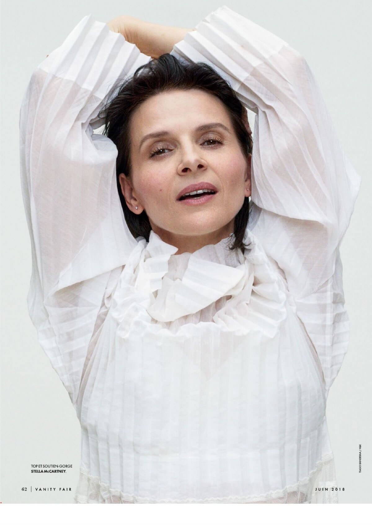 Juliette Binoche Stills in Vanity Fair Magazine, France June 2018 Issue 1
