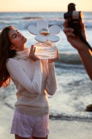 Kaia Gerber Poses for Marc Jacobs Daisy Love Fragrance, Spring 2018 Issue 4