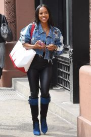 Karrueche Tran Stills Out and About in New York 2018/05/17 1