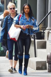 Karrueche Tran Stills Out and About in New York 2018/05/17 2