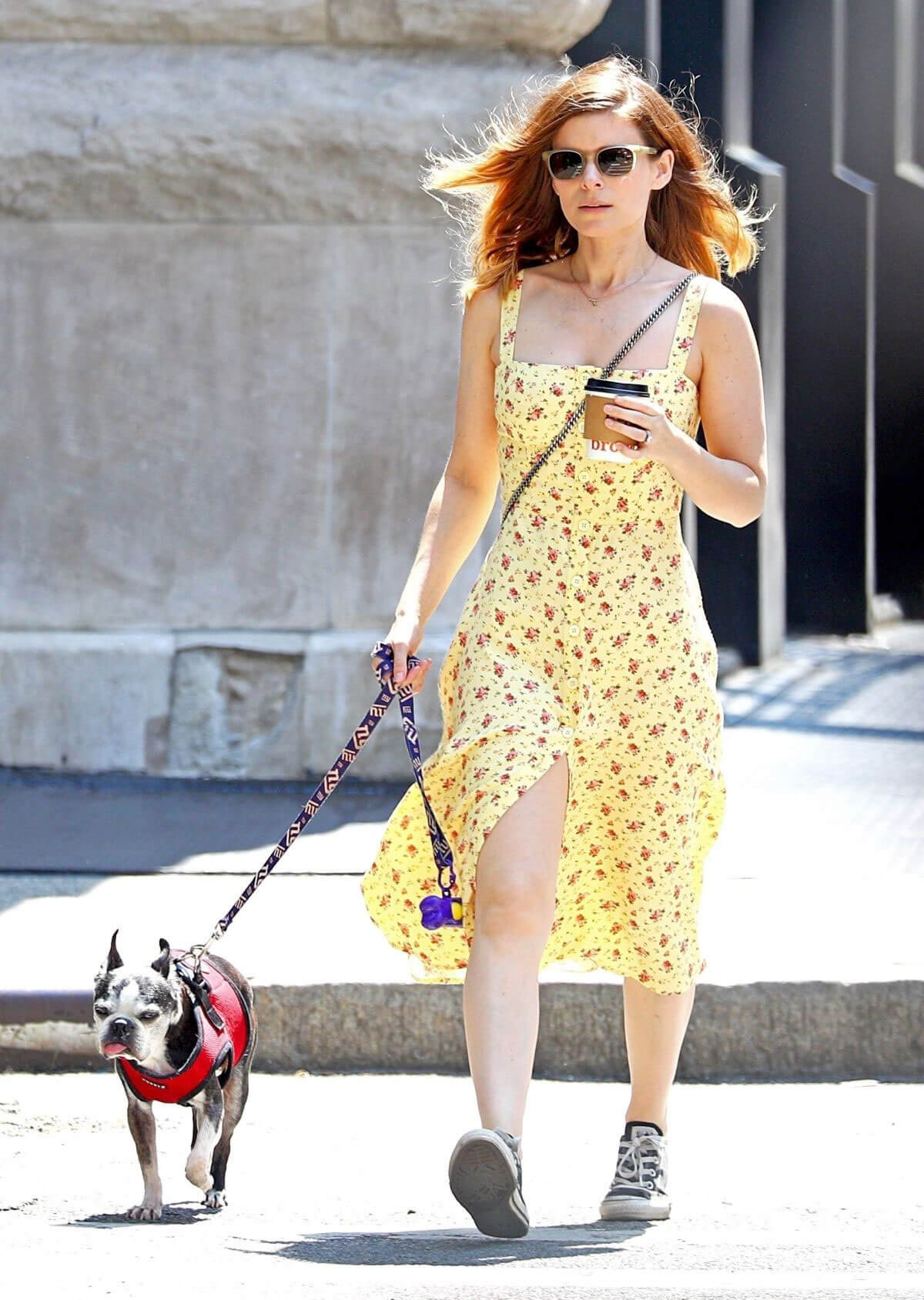 Kate Mara Stills Out with Her Dog in New York 2018/05/15 6