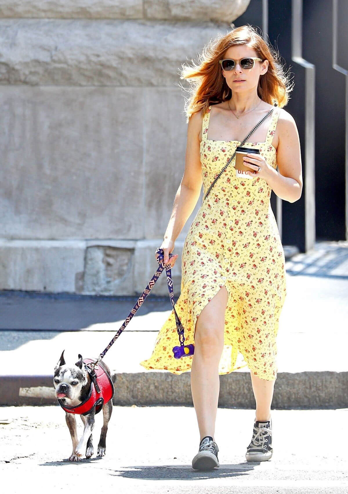 Kate Mara Stills Out with Her Dog in New York 2018/05/15 9