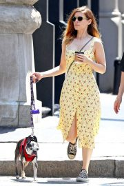 Kate Mara Stills Out with Her Dog in New York 2018/05/15 10