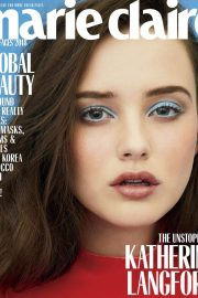 Katherine Langford Poses for Marie Claire Magazine, May 2018 Issue 1