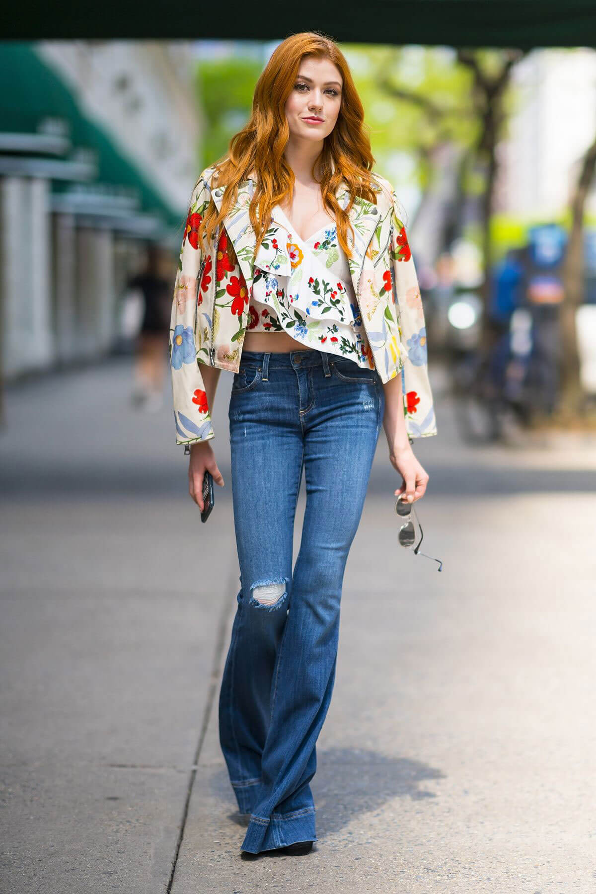 Katherine McNamara Stills Out and About in New York 2018/05/20 10