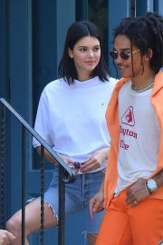 Kendall Jenner and Luka Sabbat Stills Out in New York 2018/05/09 11