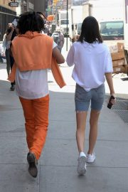 Kendall Jenner and Luka Sabbat Stills Out in New York 2018/05/09 14