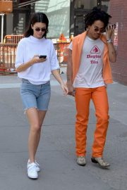Kendall Jenner and Luka Sabbat Stills Out in New York 2018/05/09 15
