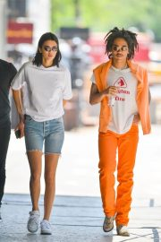 Kendall Jenner and Luka Sabbat Stills Out in New York 2018/05/09 17