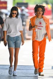 Kendall Jenner and Luka Sabbat Stills Out in New York 2018/05/09 18