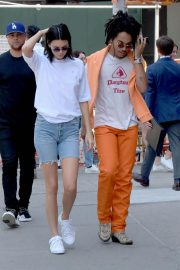 Kendall Jenner and Luka Sabbat Stills Out in New York 2018/05/09 19