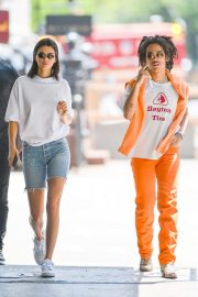 Kendall Jenner and Luka Sabbat Stills Out in New York 2018/05/09 22