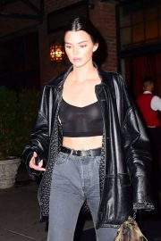 Kendall Jenner Stills Night Out in New York 2018/05/05 9
