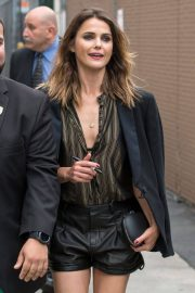 Keri Russell Arrives at Jimmy Kimmel Live in Los Angeles 2018/05/29 10
