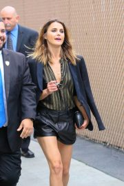 Keri Russell Arrives at Jimmy Kimmel Live in Los Angeles 2018/05/29 14