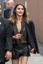 Keri Russell Arrives at Jimmy Kimmel Live in Los Angeles 2018/05/29 16