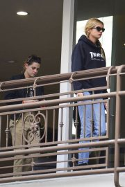 Kristen Stewart and Stella Maxwell Out for Sushi in Hollywood 2018/05/24 1