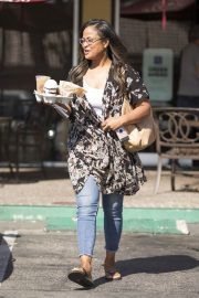 Laila Ali Stills Out for a Coffee in Calabasas 2018/05/21 8