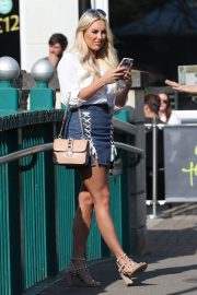 Lauren Pope, Chloe Lewis and Amber Turner Stills on the Set of TOWIE in Chelmsford 2018/05/15 4