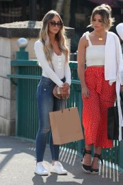 Lauren Pope Chloe Lewis and Amber Turner Stills on the Set of Towle in Chelmsford 2018/05/15 2