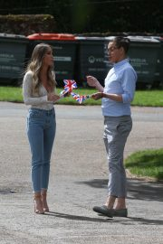 Lauren Pope on the Set of The Only Way is Essex at Colchester Castle 2018/05/10 4