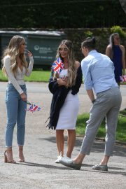 Lauren Pope on the Set of The Only Way is Essex at Colchester Castle 2018/05/10 5