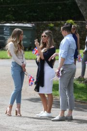 Lauren Pope on the Set of The Only Way is Essex at Colchester Castle 2018/05/10 6