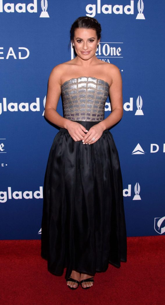 Lea Michele Stills at 2018 Glaad Media Awards in New York 2018/05/05 15