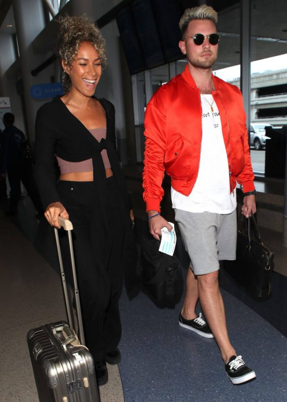 Leona Lewis at LAX Airport in Los Angeles 2018/05/24 1