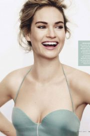 Lily James Stills in Vanity Fair Magazine, Italy March 2018 Issue 1