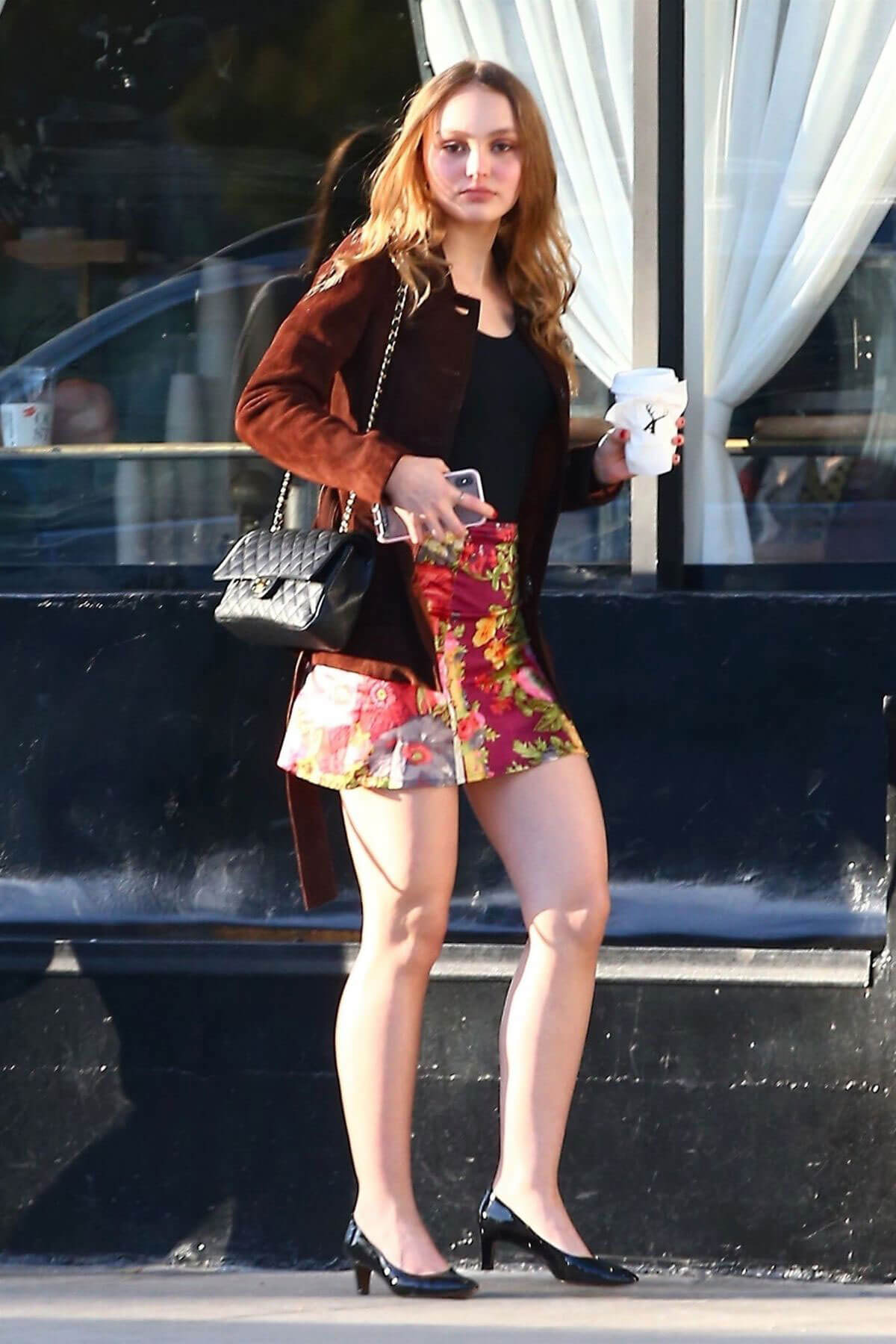 Lily Rose Depp Stills Out For Coffee In Beverly Hills 2018